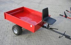 Přívěsný vozík pro malotraktor kultivátor VARES IT 500
