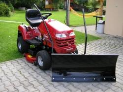 Sněhová radlice pro zahradní traktor VARES 1,0 metr komfort