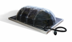 Solární ohřev vody bazénu PALRAM SOLAR AquaDome GRAND