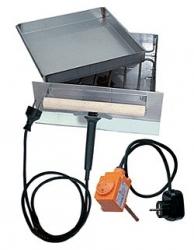VARES topná spirála a termostat pro izolovanou udírnu